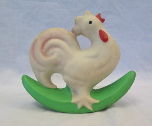 Gumová hračka KOHOUT