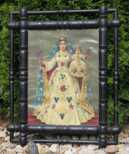 Obrázek do chalupy, panenka Marie s Ježíškem