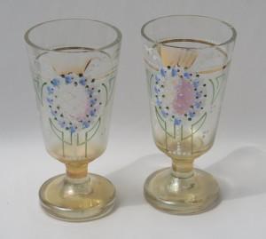 Staré čajové sklenice
