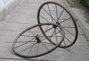 kolečka od kočárku